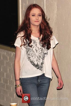 Janet Devlin leaving X Factor Fountain Studios London, England - 27.11.11