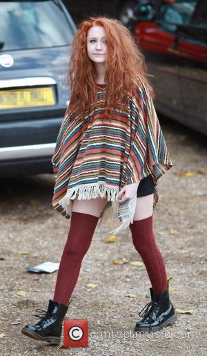 Janet Devlin at X Factor rehearsals England - 02.11.11