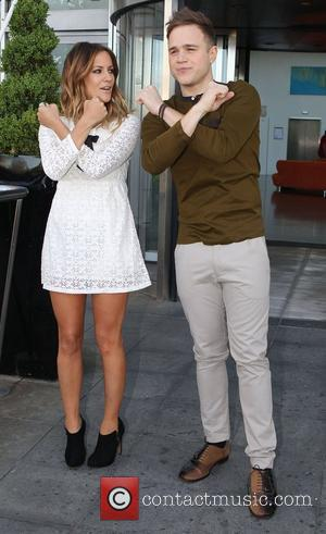 Caroline Flack and Olly Murs