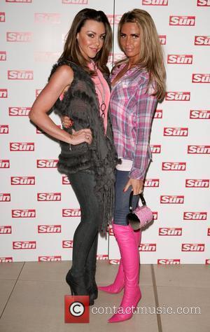 Michelle Heaton and Katie Price