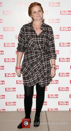 Patsy Palmer meet and greet at the ' X Factor Live Show', held at The O2 Arena - Arrivals London,...