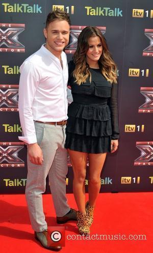 Olly Murs and Caroline Flack