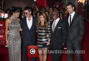 Nicole Scherzinger, Paula Abdul, Simon Cowell, Steve Jones and Arclight Theater