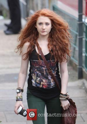 Janet Devlin  arrives at 'The X Factor' studios for rehearsals London, England - 18.11.11
