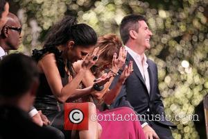 Nicole Scherzinger, Paula Abdul, Simon Cowell and The X Factor