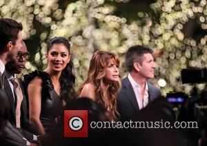 Simon Jones, Nicole Scherzinger, Paula Abdul, Simon Cowell and The X Factor