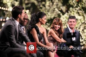 Steve Jones, Nicole Scherzinger, Paula Abdul, Simon Cowell and The X Factor