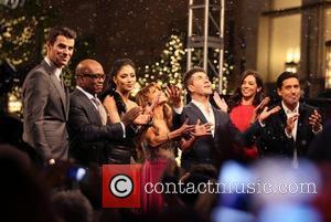 Steve Jones, Mario Lopez, Nicole Scherzinger, Paula Abdul, Simon Cowell, Terri Seymour and The X Factor