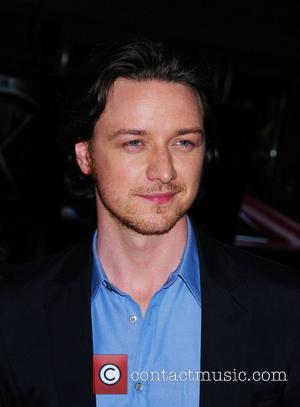 James McAvoy at the New York premiere of 'X-Men: First Class' held at the Ziegfeld Theatre - Arrivals. New York...
