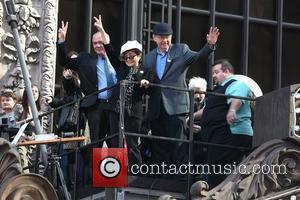 Yoko Ono and Times Square