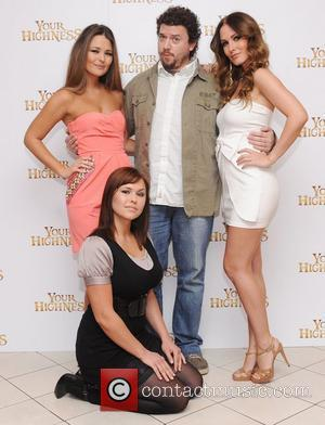 Danny McBride, Eva Wyrwal, Paige Tyler and Amii Grove Your Highness - photocall held at Vue cinema London, England- 10.04.11