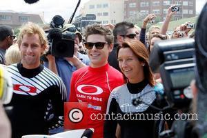Zac Efron and Layne Beachley