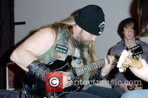Zakk Wylde  Rock legend and Black Label Society front man Zakk Wylde dedicates one of his own signature Gibson...