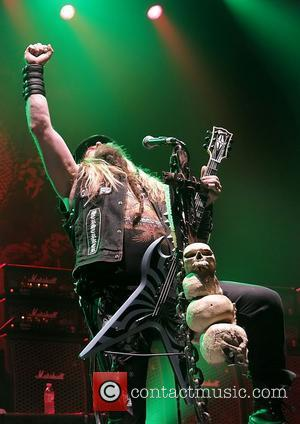 Zakk Wylde and Black Label Society Performing At Manchester Apollo  Manchester, England - 22.02.11