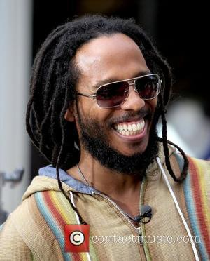 David Nesta Ziggy Marley arrives at The Grove for 'Extra' in Hollywood Los Angeles, California – 15.06.11