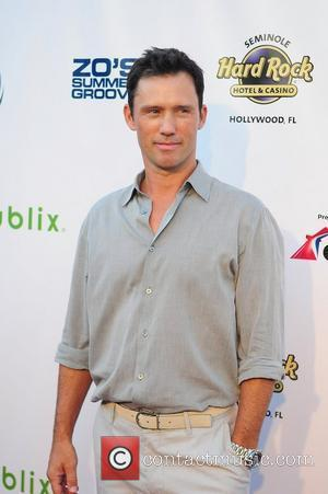 Jeffrey Donovan arrives at Zo Summer Groove Benefit Dinner and Gala at Seminole Hard Rock Hotel and Casino Hollywood, Florida...