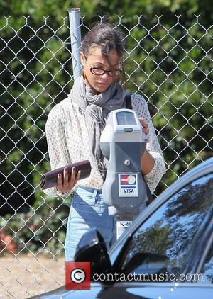 Zoe Saldana  seen arriving at an office building in Beverly Hills Los Angeles, California - 06.10.11