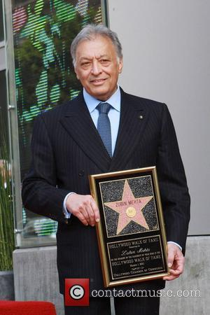 Maestro Zubin Mehta, Star On The Hollywood Walk Of Fame and Walk Of Fame