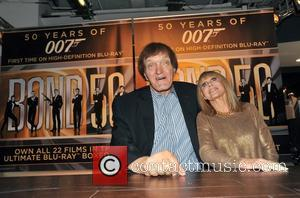 Britt Ekland, Richard Kiel 007 Days of Bond - The seven day Bond Blu-relay arrives at HMV Oxford Street on...