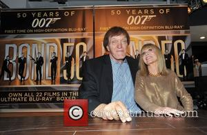 Britt Ekland and Richard Kiel