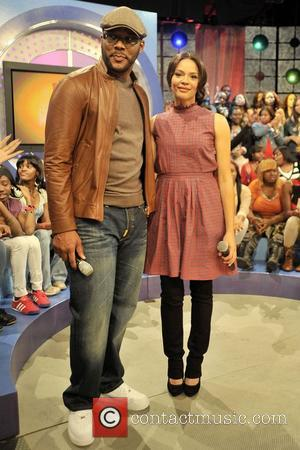Tyler Perry and Carmen Ejogo