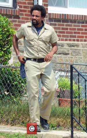 Hill Harper Film Set for the movie '1982' in West Oak Lane, Philadelphia Pennsylvania, USA - 19.07.12