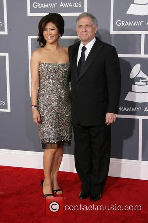 Julie Chen; Leslie Moonves Julie Chen, Leslie Moonves