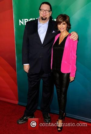 Penn Jillette and Lisa Rinna NBC Universal's '2013 Winter TCA Tour' Day 1 at Langham Hotel  Pasadena, California -...