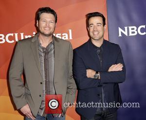 Blake Shelton and Carson Daly