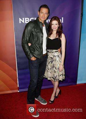 Sasha Roiz; Bitsie Tulloch NBC Universal's '2013 Winter TCA Tour' Day 1 at Langham Hotel  Featuring: Sasha Roiz, Bitsie...