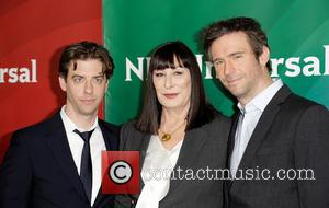 Christian Borle, Anjelica Huston and Jack Davenport