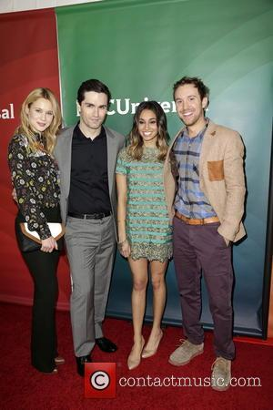 Kristen Hager, Sam Witwer, Meaghan Rath and Sam Huntington