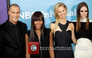Nigel Barker; Naomi Campbell; Karolina Kurkova; Coco Rocha NBCUniversal's '2013 Winter TCA Tour' Day 2 at Langham Hotel  Featuring:...