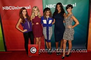 Una Healy; Mollie King; Vanessa White; Rochelle Humes; Frankie Sanford NBCUniversal's '2013 Winter TCA Tour' Day 2 at Langham Hotel...