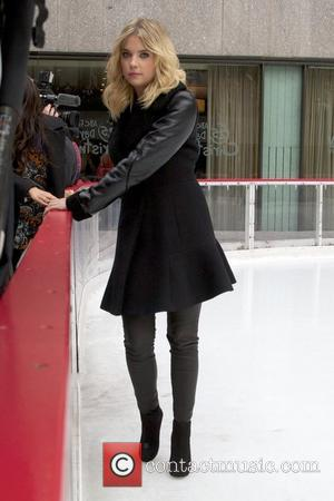 Ashley Benson and Rockefeller Center