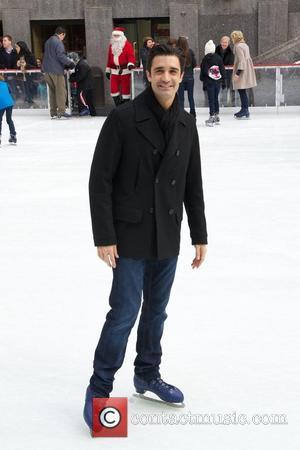 Gilles Marini and Rockefeller Center