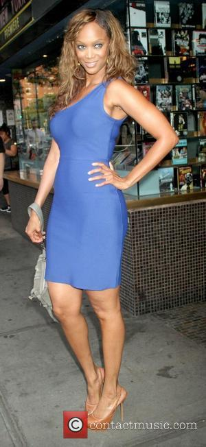 Tyra Banks,  at The Cinema Society with MCM & Grey Goose screening of Magnolia Pictures' '2 Days in New...