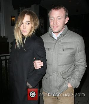 Guy Ritchie and girlfriend Jacqui Ainsley leaving 34 Restaurant in Mayfair London, England - 24.02.12