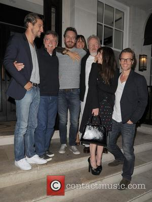 Logan Marshall-green, Guy Pearce, Michael Fassbender and Noomi Rapace