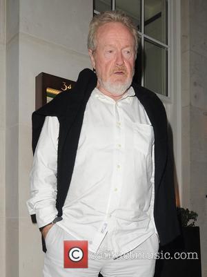 Ridley Scott visits 34 restaurant for a late dinner London, England - 01.06.12