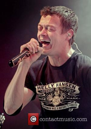 Brad Arnold of 3 Doors Down perform in concert at the Manchester Academy. Manchester, England - 11.03.12