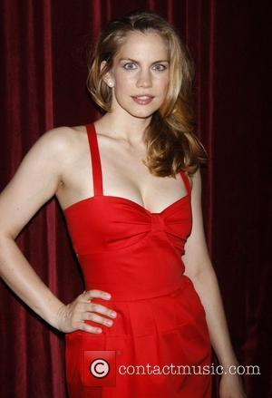 Anna Chlumsky and Tommy Hilfiger