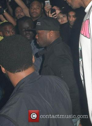 Pictures: 50 Cent Goes Clubbing In Soho, London
