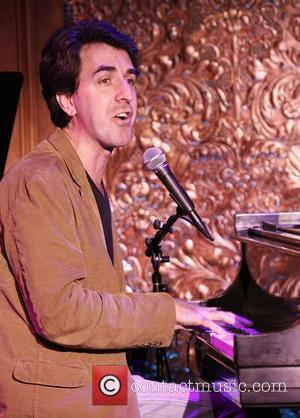 Jason Robert Brown in rehearsals for his concert at '54 Below' nightclub New York City, USA - 11.09.12