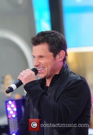 Nick Lachey 98 Degrees re-unite to perform live at Rockefeller Plaza as part of the Toyota Concert Series New York...