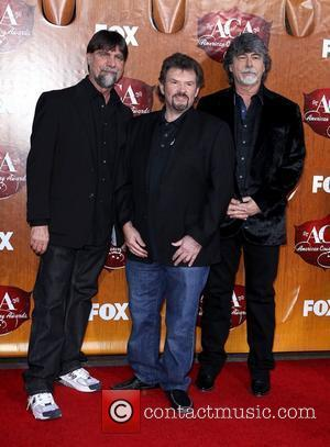 Alabama Teddy Gentry, Jeff Cook, Randy Owen   2011 American Country Awards - Arrivals at the MGM Grand Resort...