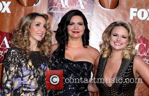Pistol Annies Ashley Monroe, Angaleena Presley, Miranda Lambert   2011 American Country Awards - Arrivals at the MGM Grand...