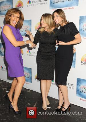 Hoda Kotb, Jenna Bush Hager and Savannah Guthrie