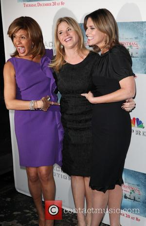 Hoda Kotb, Jenna Bush and Savannah Guthrie