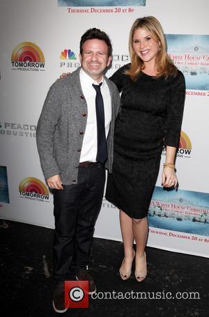 Mark Victor and Jenna Bush Hager